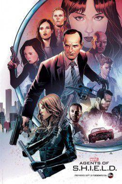 Agents of SHIELD poster Comic-Con