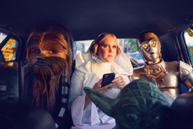 Amy Schumer ensaio Star Wars