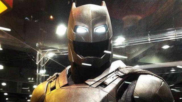 Batman vs Superman Comic-Con display
