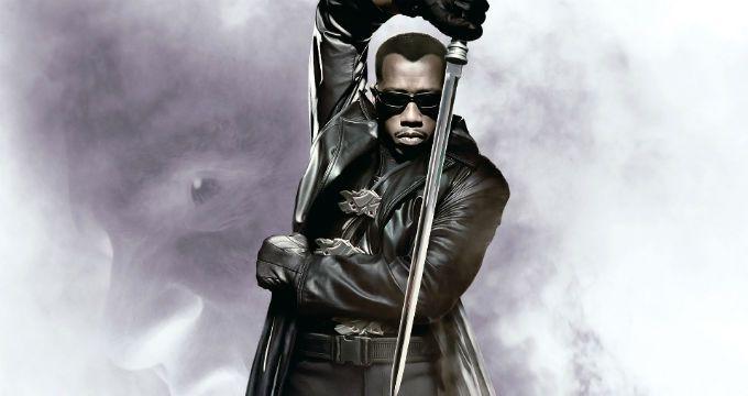 Wesley Snipes como Blade.