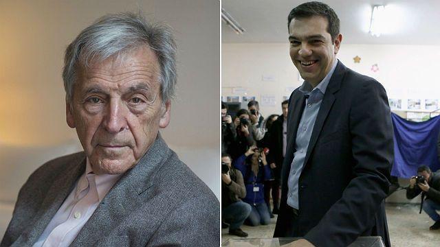 Costa Gavras e Alex Tsipras