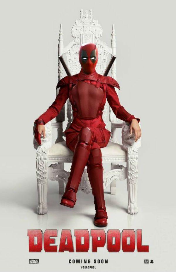 Deadpool imita Katniss
