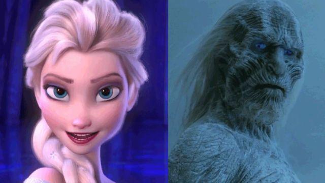 Frozen White Walkers