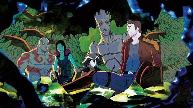 Guardioes da Galaxia serie animada