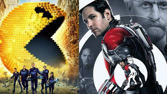 Homem-Formiga vs Pixels