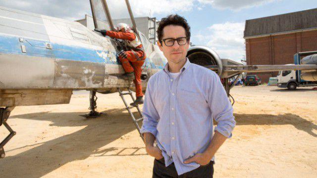 J.J. Abrams no set de Star Wars