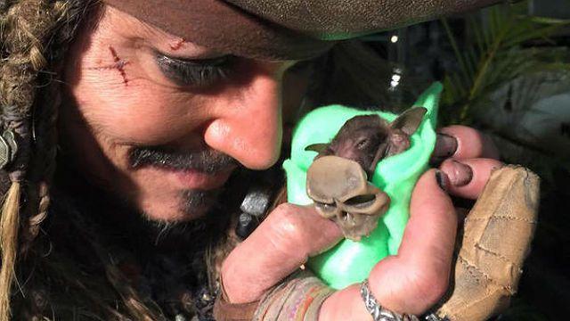 Johnny Depp morcego