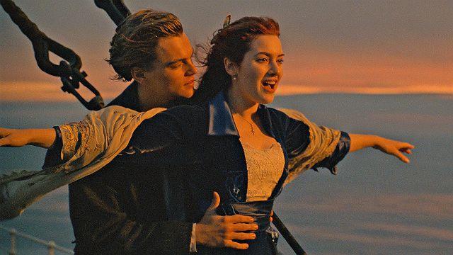 Kate Winslet em Titanic