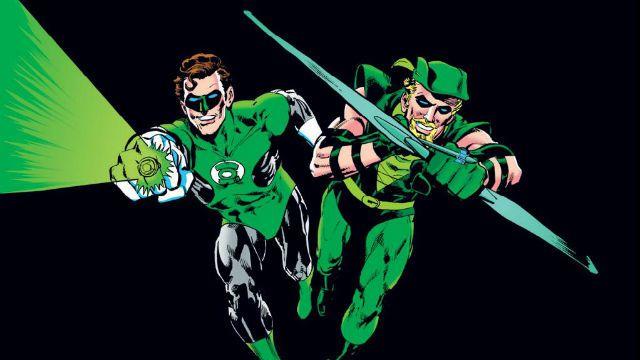 Lanterna Verde Arrow