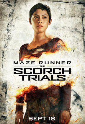 Maze Runner Prova de Fogo poster