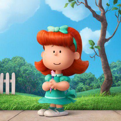 Peanuts A Menina do Cabelo Vermelho