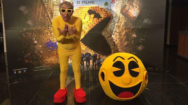 Pixels pegadinha Pacman