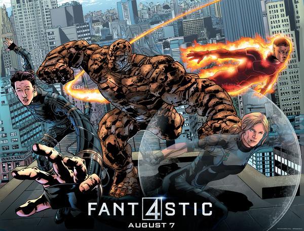 Quarteto Fantastico Comic-Con poster