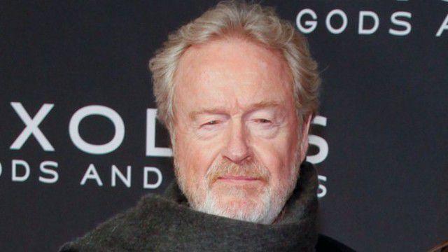 O diretor Ridley Scott, da franquia Alien.