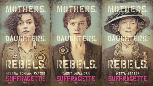 Suffragette cartaz