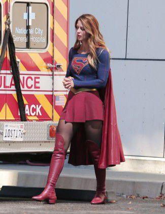 Supergirl set