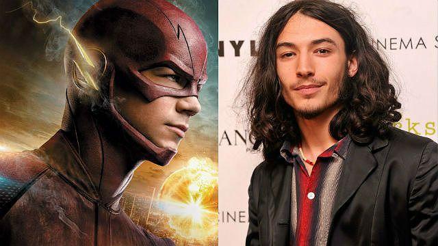 The Flash Ezra Miller Grant Gustin