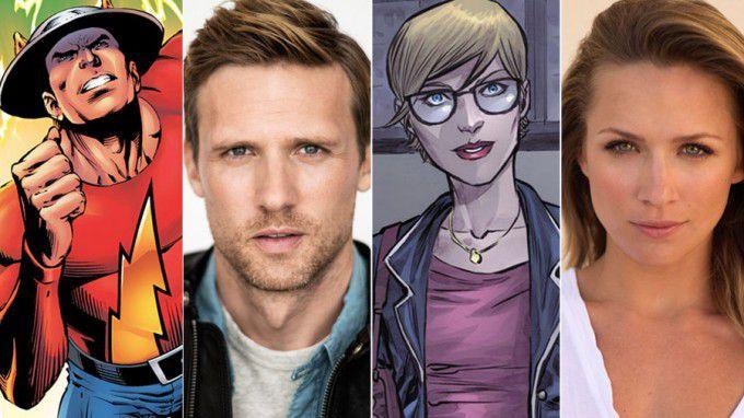 The Flash novos personagens
