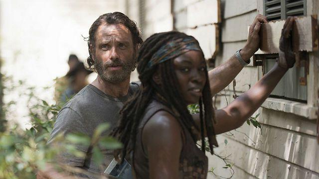 The Walking Dead Rick e Michonne