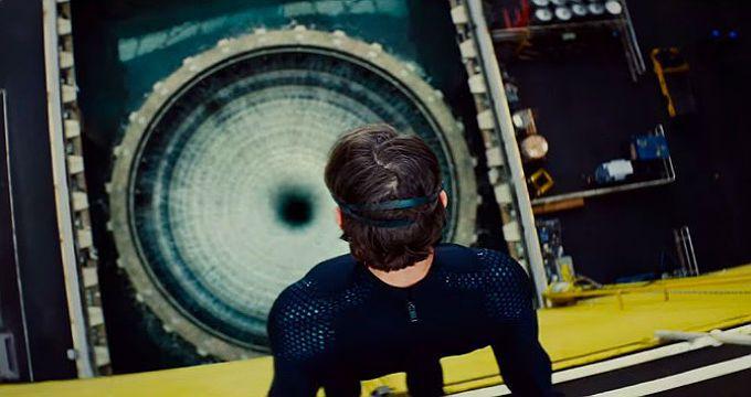 Tom Cruise tanque de agua