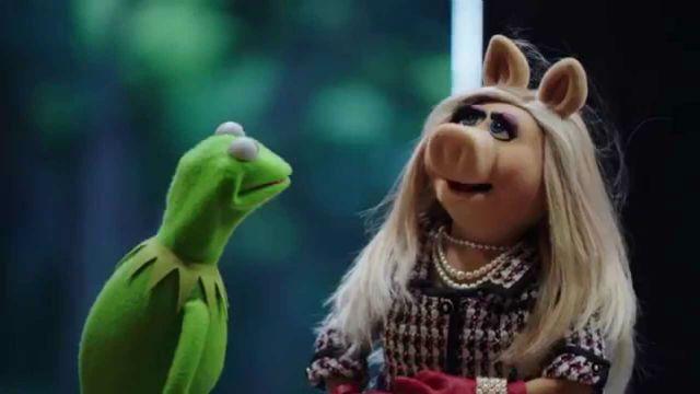 Os Muppets Kermit Piggy