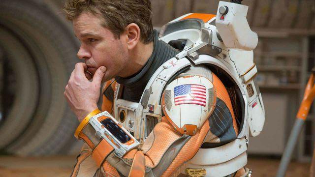 Perdido em Marte Matt Damon