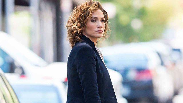 Shades of Blue set Jennifer Lopez
