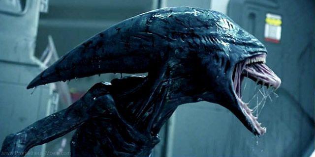 O Xenoformo, em Alien.