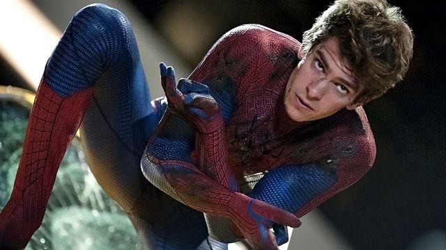 Andrew Garfield como Homem-Aranha