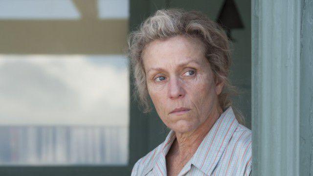 Frances McDormand em Três Anúncios Para um Crime.