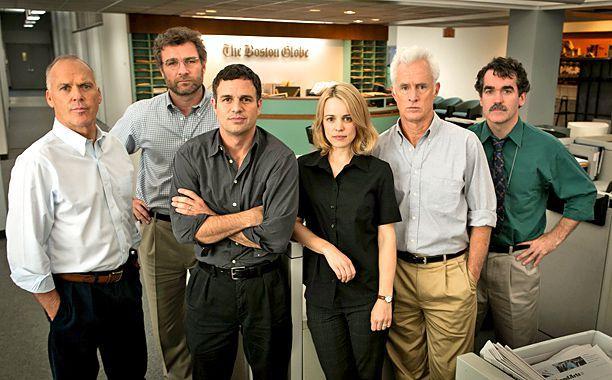 Personagens do filme Spotlight: Segredos Revelados