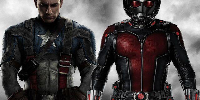 Resultado de imagem para Capitão América contra Homem-Formiga