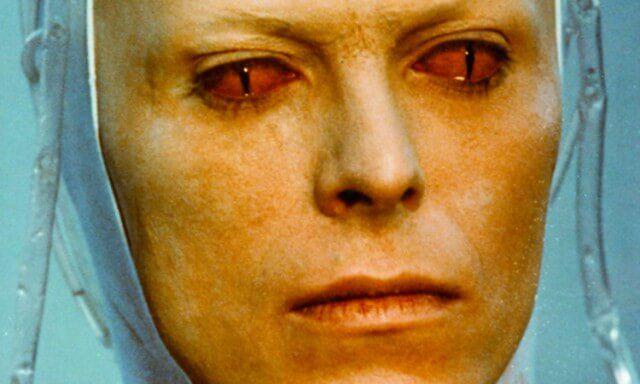 David Bowie em O Homem Que Caiu na Terra