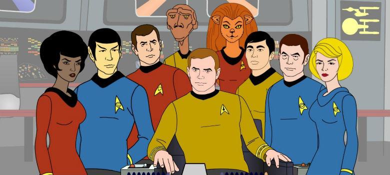 Resultado de imagem para Jornada nas Estrelas: A Série Animada