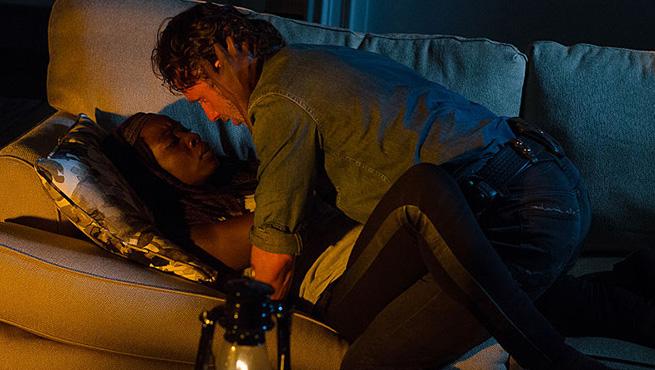 The Walking Dead | Andrew Lincoln e Danai Gurira pediram cena de nudez na série