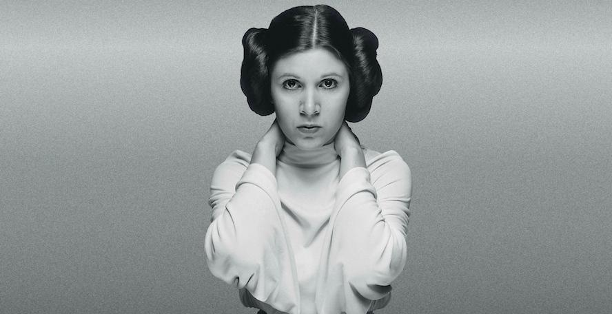 Princesa Leia em Uma Nova Esperança (1977)