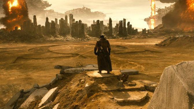 Momento de pesadelo de Batman vs Superman