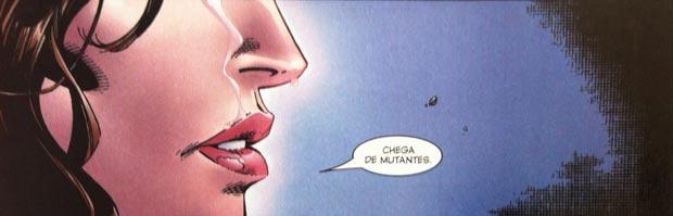 """""""Chega de Mutantes"""" é a frase utilizada por Wanda nos quadrinhos"""