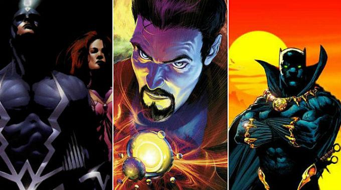 Próximos filmes da Marvel apostam em personagens menos populares dos quadrinhos