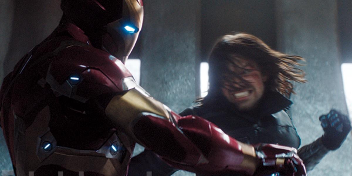 bucky luta com homem de ferro