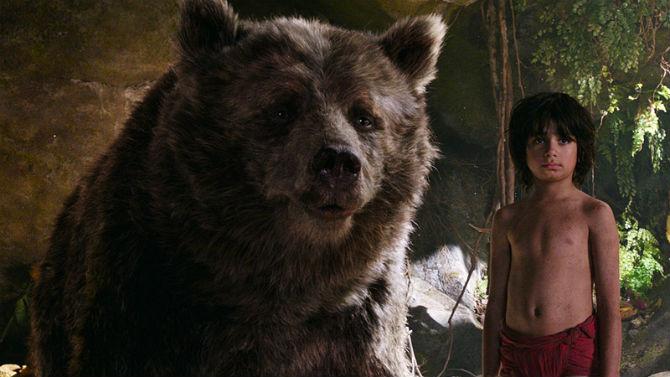 Balu, o urso amigo de Mogli.