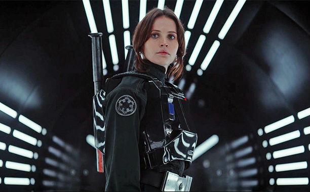 Felicity Jones em Rogue One: Uma História de Star Wars