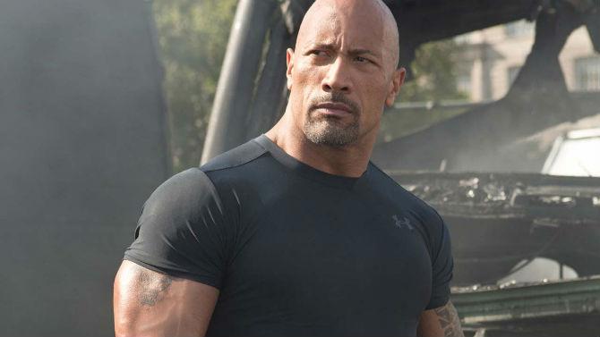De outra menina: The Rock será pai pela segunda vez
