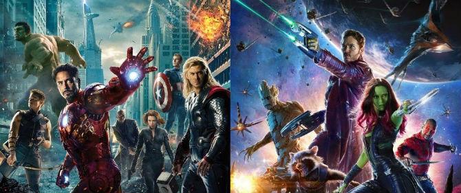Vingadores e Guardiões da Galáxia
