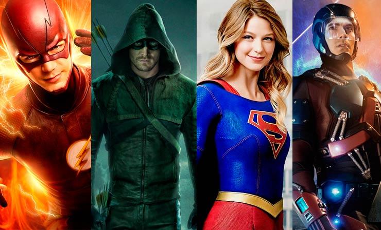 The Flash, Arrow, Supergirl e Legends of Tomorrow