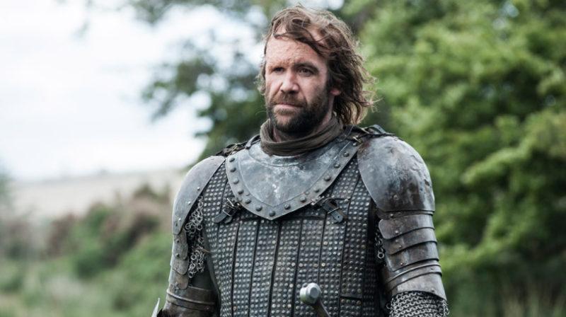 Rory McCann como Sandor Clegane em Game of Thrones