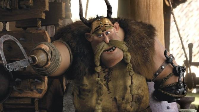 """Gobber, ou """"Bocão"""", o personagem gay da franquia Como Treinar Seu Dragão"""
