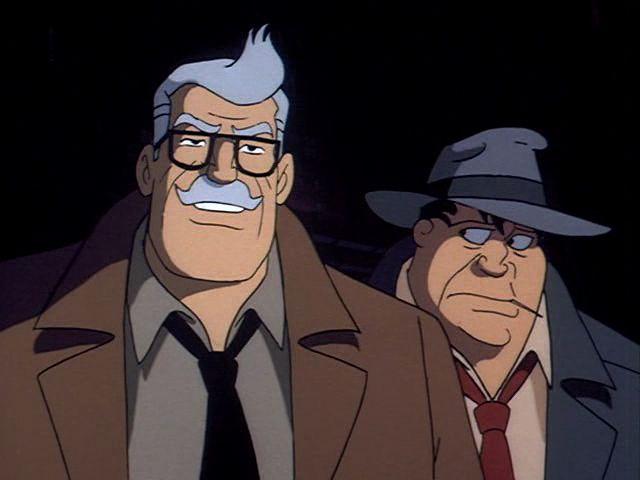 Comissário Gordon em Batman: The Animated Series (1992-1995)