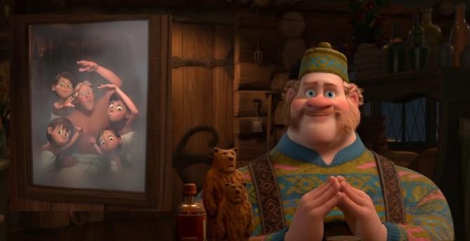 """A """"primeira família LGBT"""" da Disney em Frozen"""