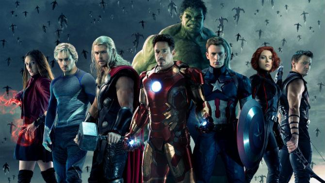Os Vingadores da Marvel